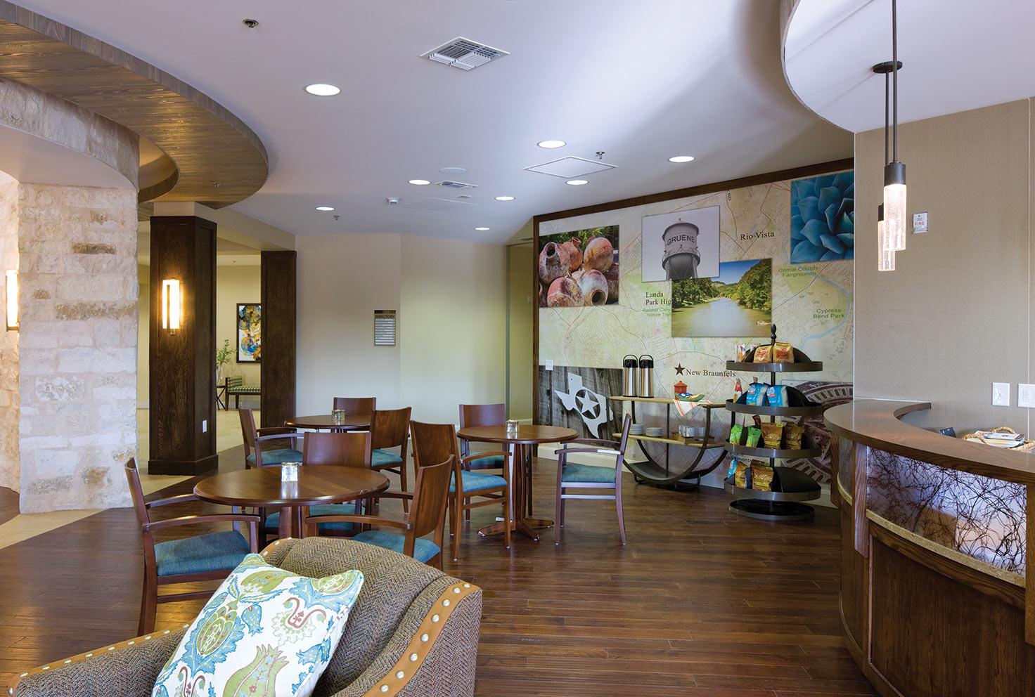 Cafe at Elan Westpointe