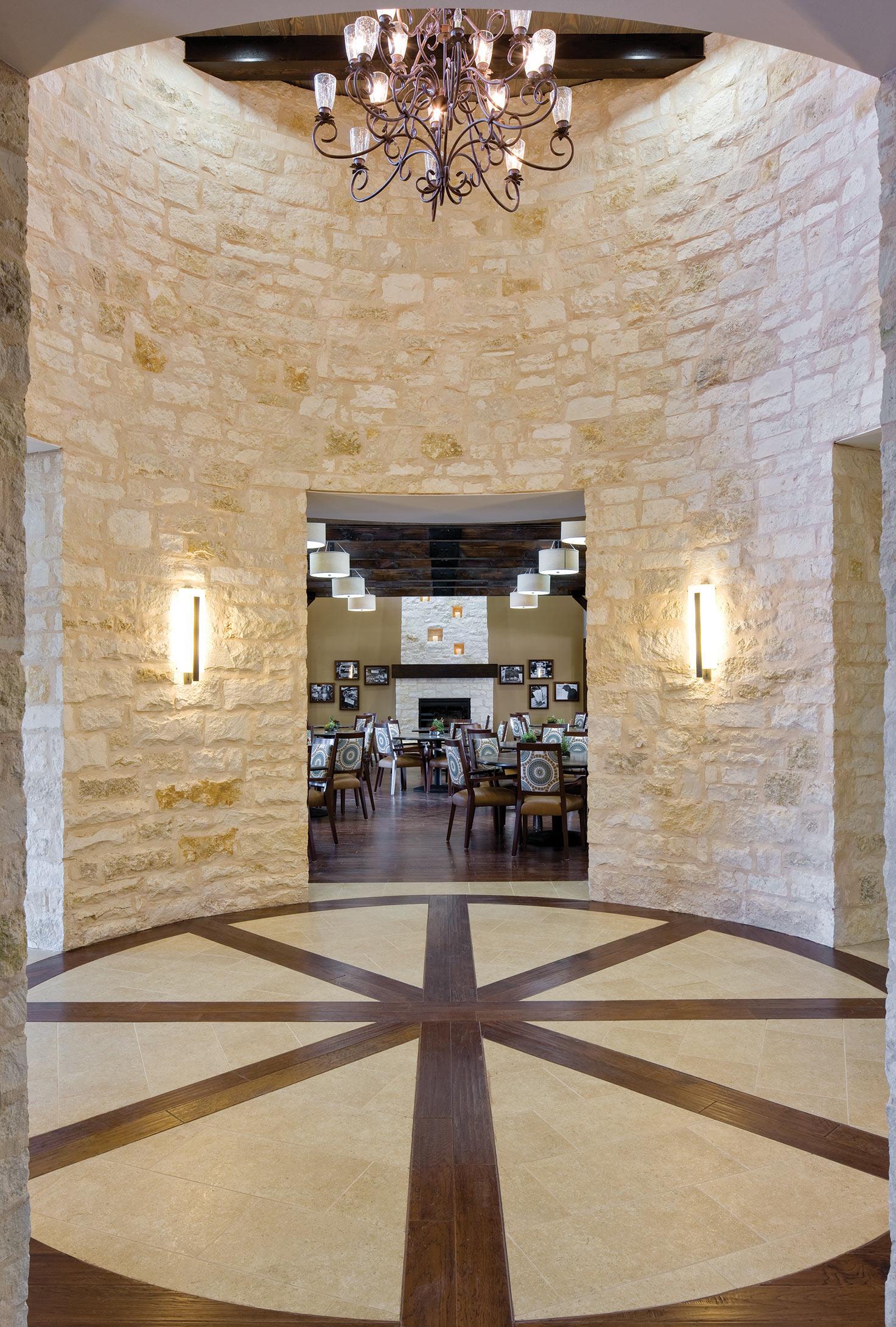Lobby at Elan Westpointe